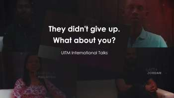 Oni się nie poddali! A Ty? - UITM International Talks [TRAILER]